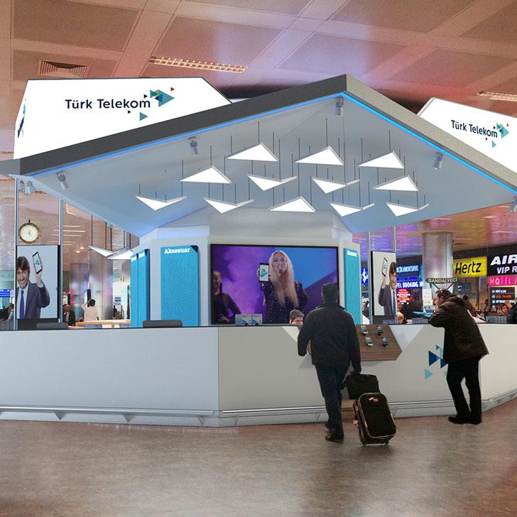 Turk Telekom Airport Store