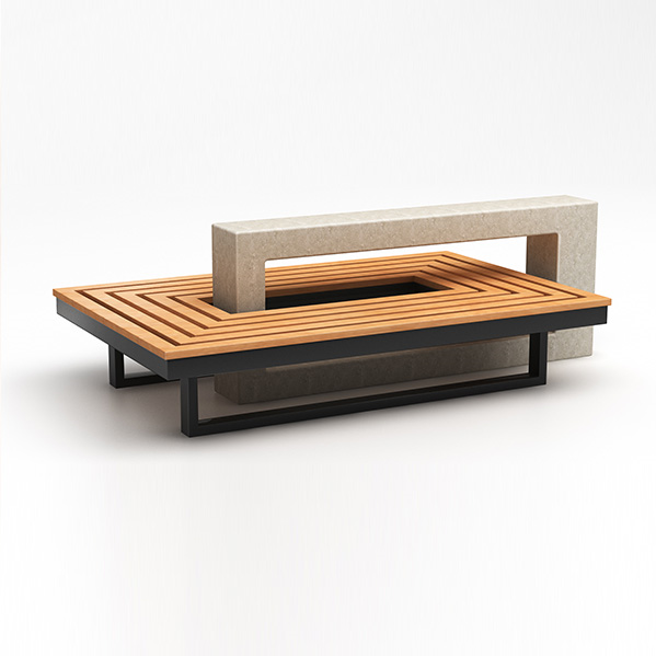Concrete Urban Benches