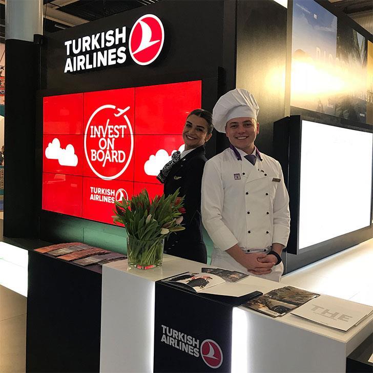 Turkish Airlines Utrecht Tourism Fair
