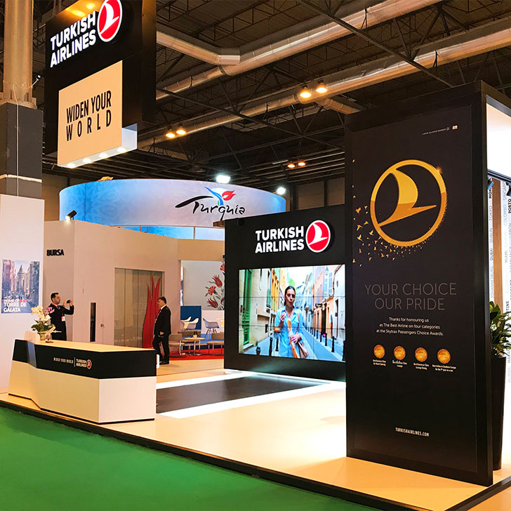 Turkish Airlines Fitur Tourism Fair, Madrid