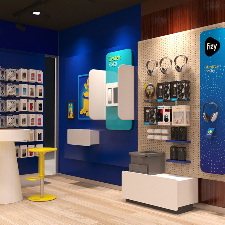 Turkcell Brand Stores