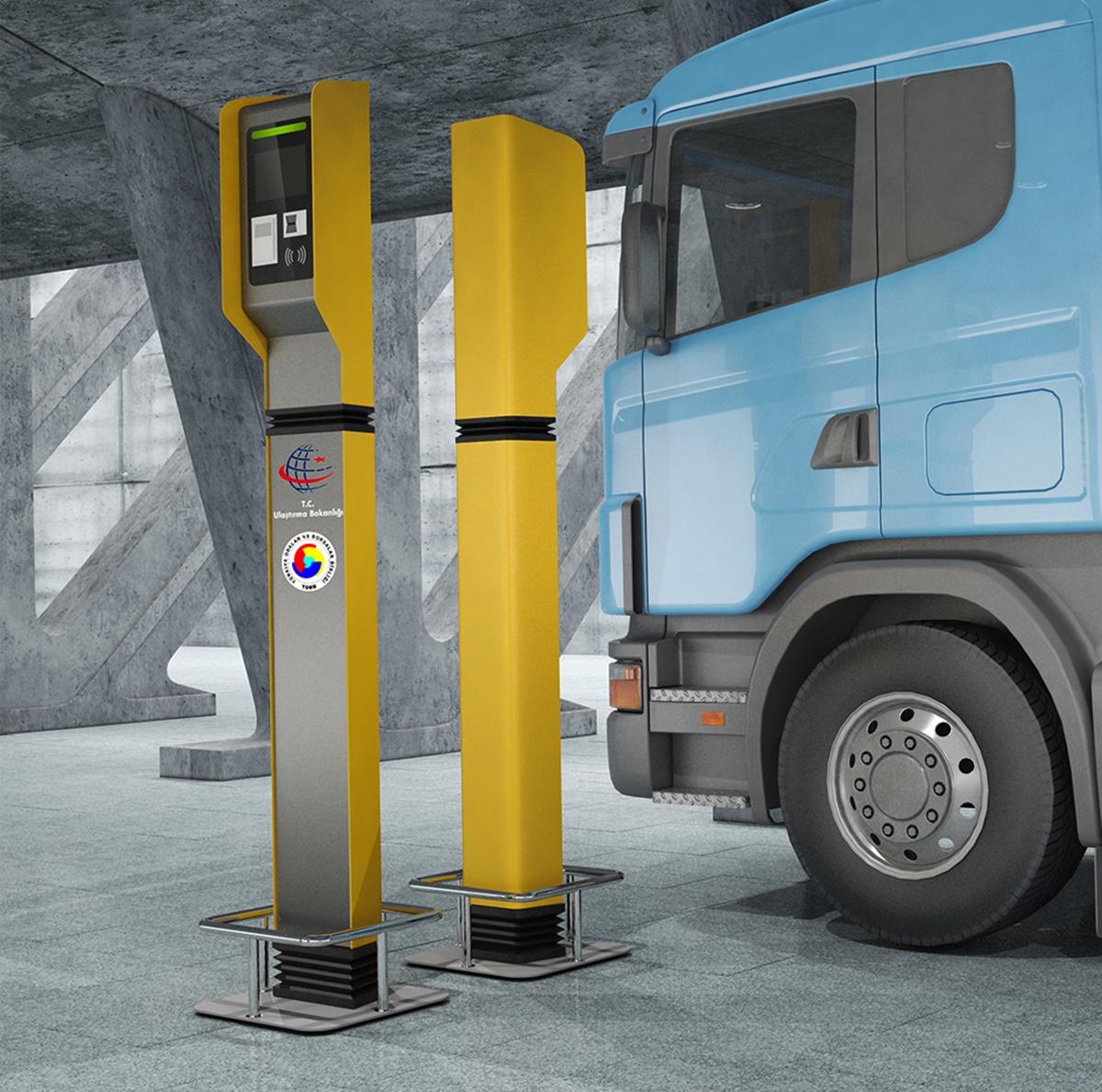 Tachograph Data Collection Kiosk